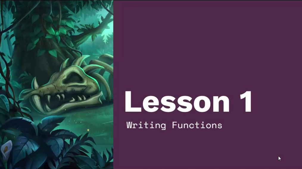 Chapter 4 Module 3 Lesson 1 Writing Functions.mp4