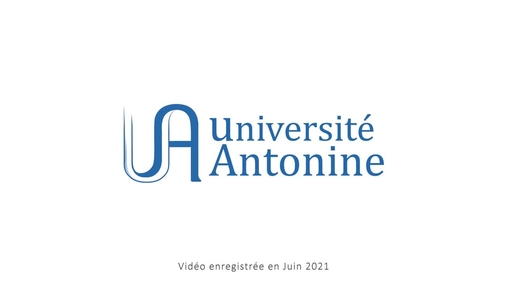 Université Antonine - Liban v3 .mp4