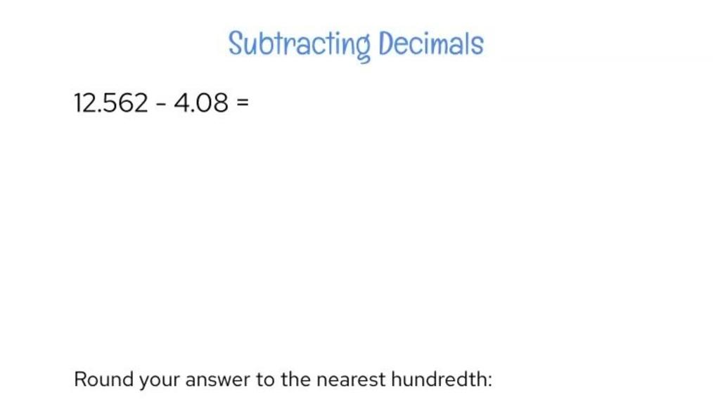 Review - Subtracting Decimals Example.mp4