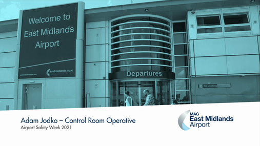 Airport Safety Week - Control Room Operative