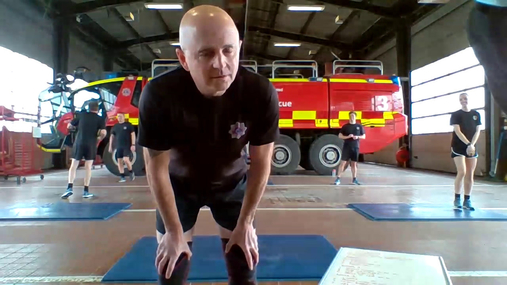 Fitness with the Fire Service - 16/03/21