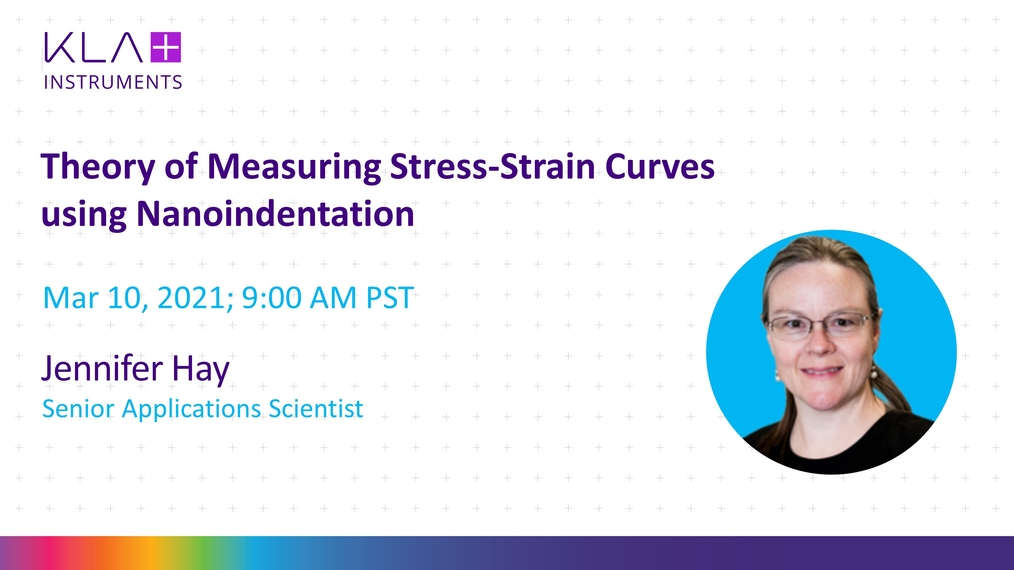 Indentation University Session 22 - Theory of Measuring Stress-Strain Curves by Nanoindentation