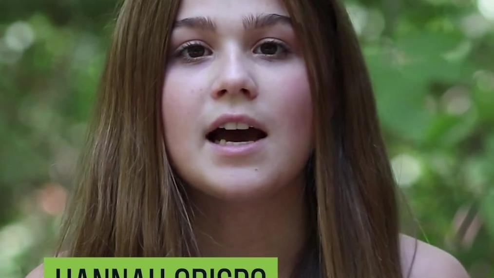 Cancer survivor Hannah Grispo