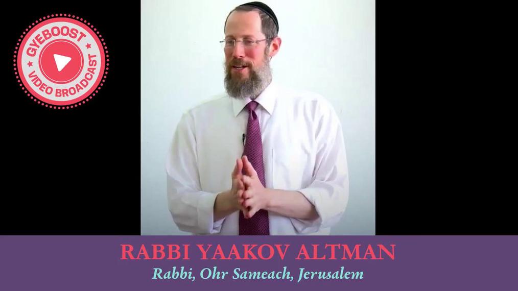 662 - Rabbi Yaakov Altman - Puedes hacerlo