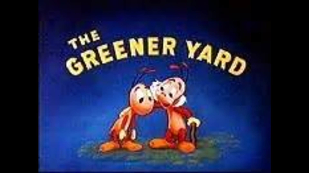 Donald Duck THE GREENER YARD