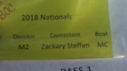 Zackary Steffen M2 Round 1 Pass 1