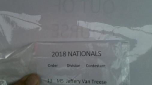 Jeffery Van Treese M5 Round 1 Pass 1