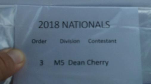 Dean Cherry M5 Round 1 Pass 2
