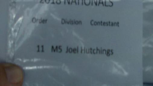 Joel Hutchings M5 Round 1 Pass 2