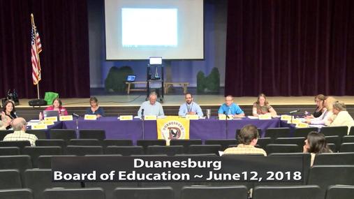 Duanesburg BOE -- June 12, 2018