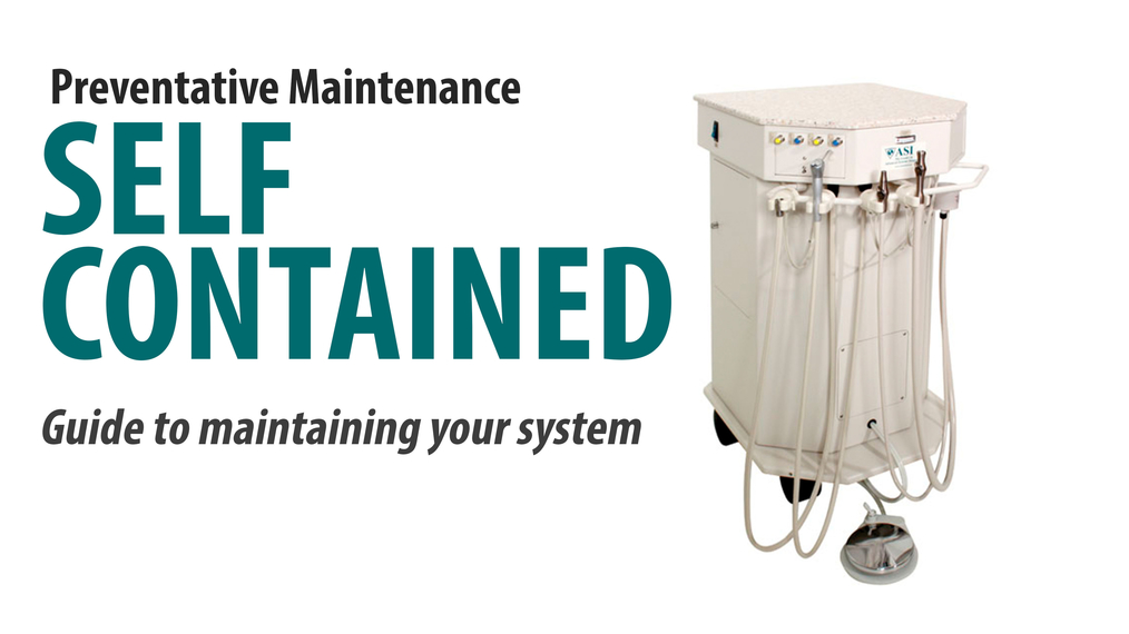 Self-Contained Maintenance - For most units made before 2018 [66-3001]