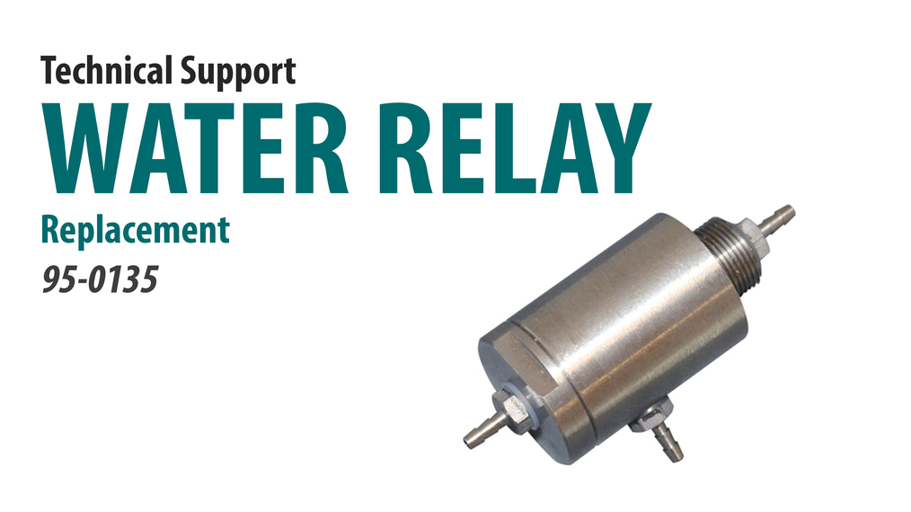 Replace the Water Relay [66-4001]