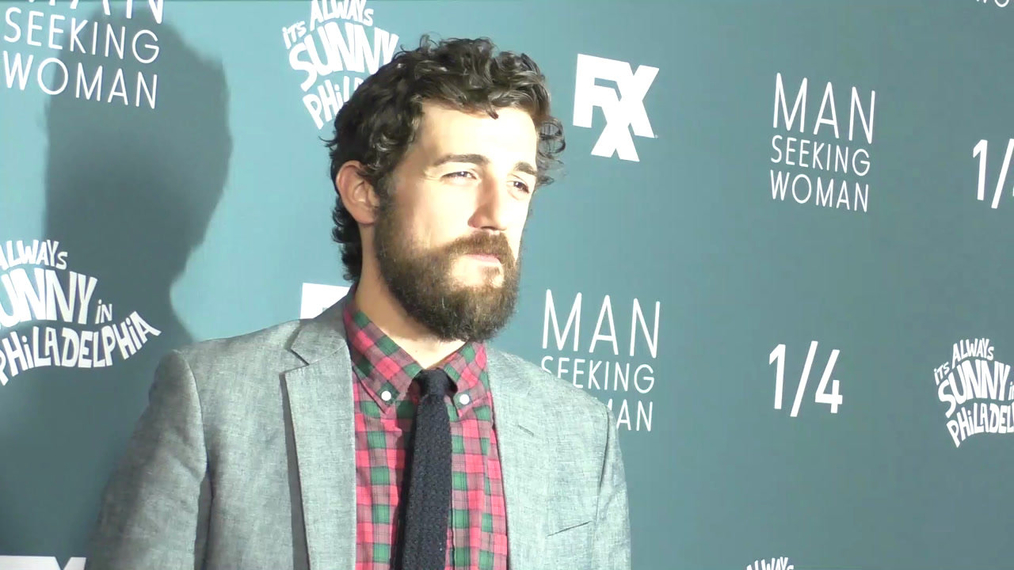 Carter Hudson at the It's Always Sunny in Philadelphia and Man Seeking Woman Season Premiere at Bruin Theatre in Westwood.mp4