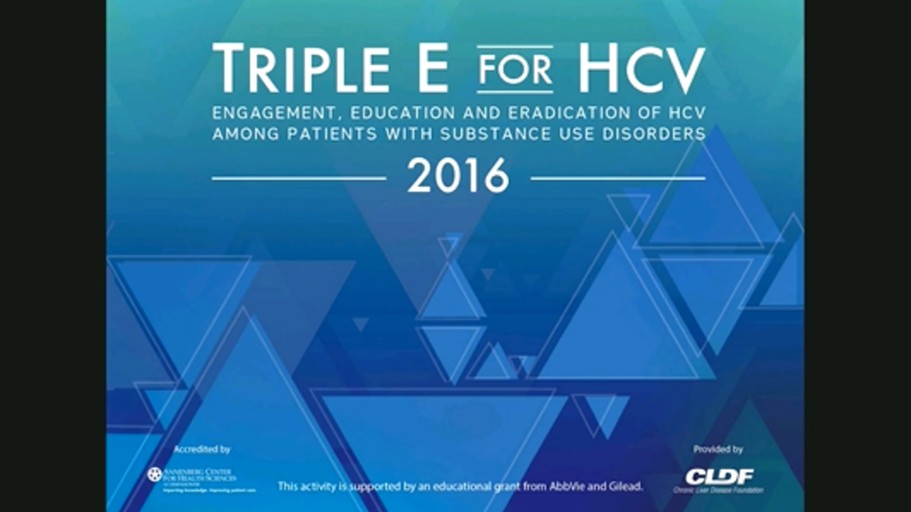Triple E for HCV: Engagement, Education and Eradication of HCV among patients with substance abuse disorders
