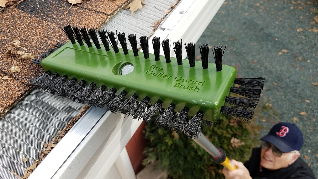 The Gutter Guard Brush