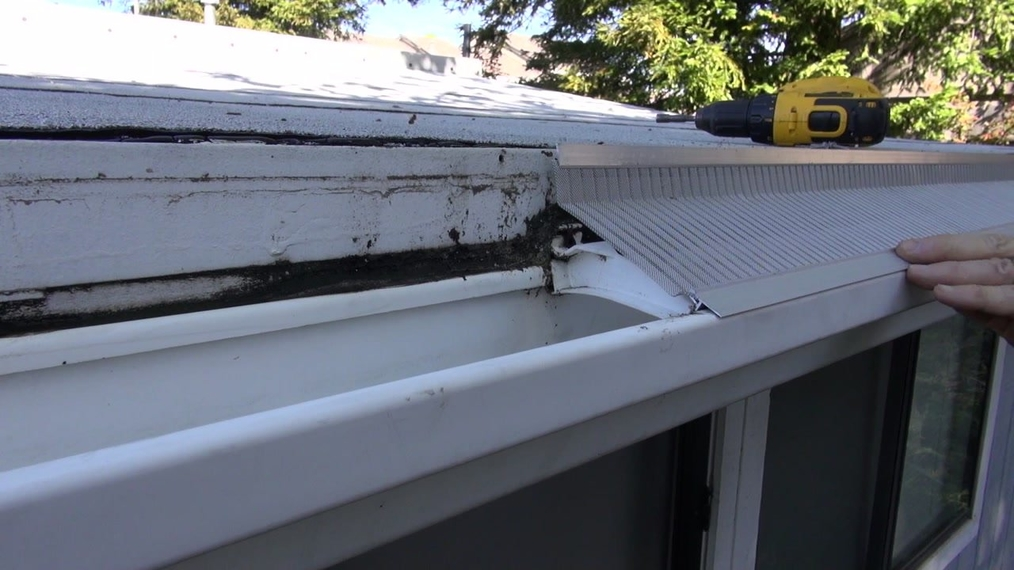 Installing On A Plastic Gutter