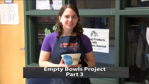 Empty Bowls Project part 3 -- 3-12-2017
