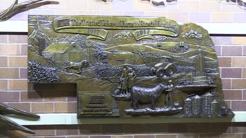 Ne Farm Bureau Sculpture Unveiling
