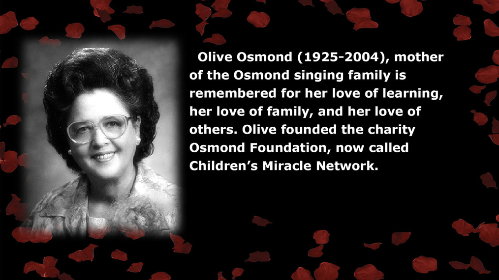 Olive Osmond