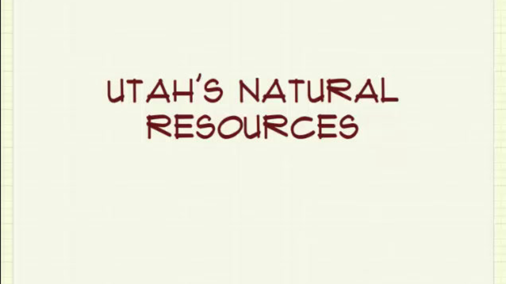 Natural Resources Sound