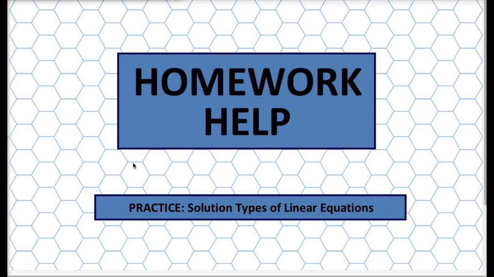 Q1 HH Solution Types of Linear Equations.mp4