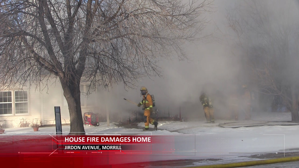 Morrill House Fire