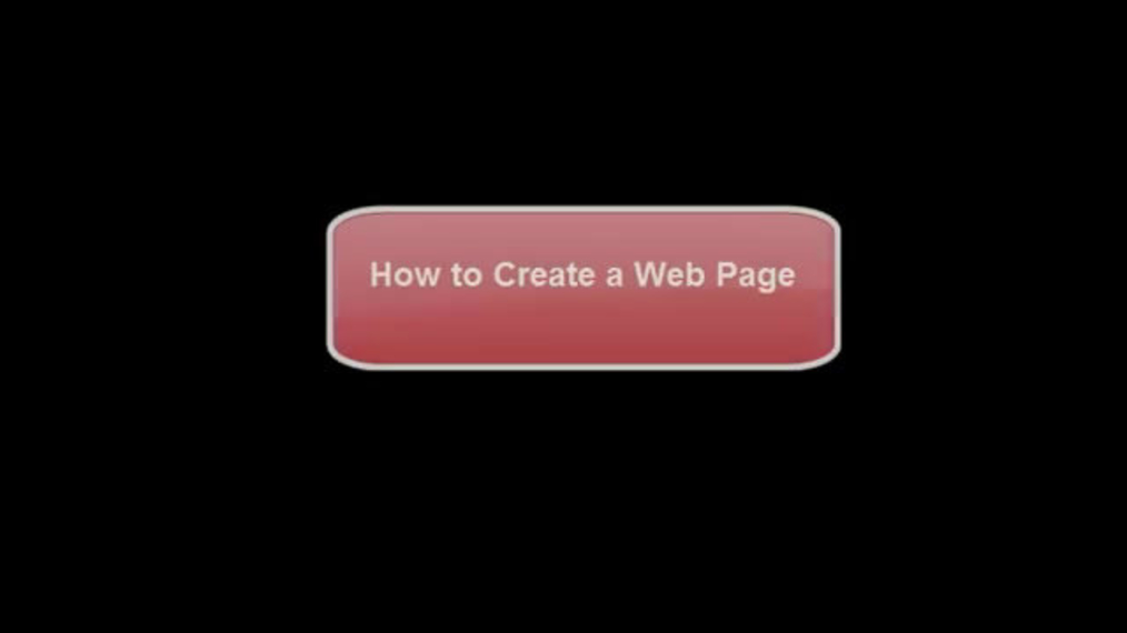 How To Create A Web Page.mp4