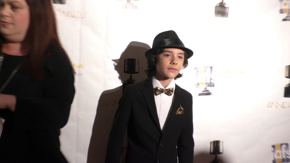Hunter Payton at the 44th Annual Annie Awards at Royce Hall on February 4, 2017 in Los Angeles.MP4