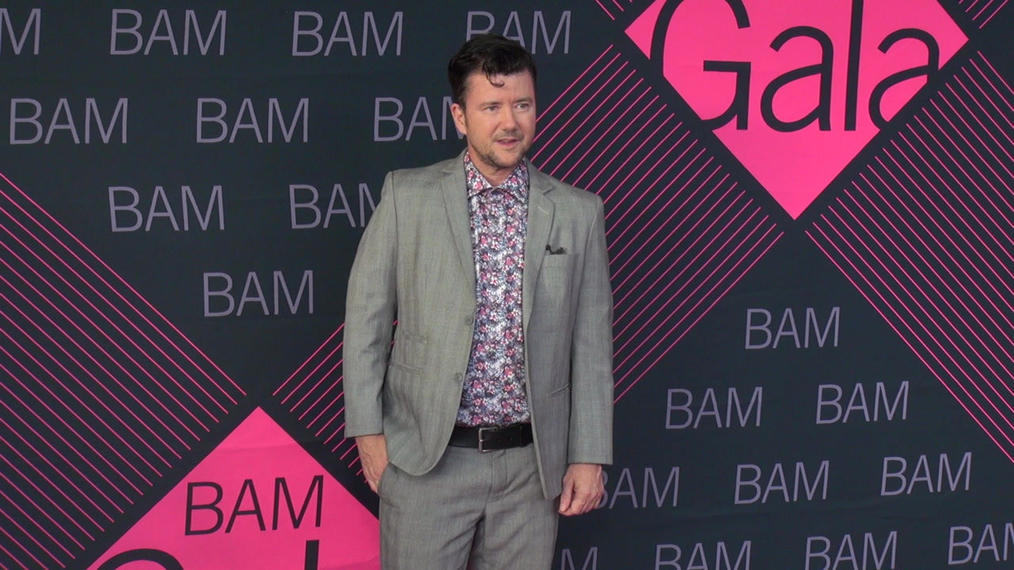 Silas Howard attends the BAM Gala 2018 at Brooklyn Cruise Terminal in New York.mp4