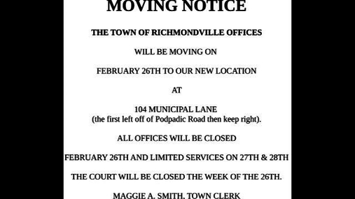 Richmondville Twn Board -- Feb.8,2018