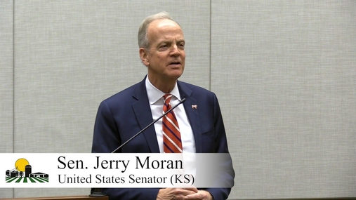 Sen. Moran Discusses the Hold on Nomination of Chief Ag Negotiator