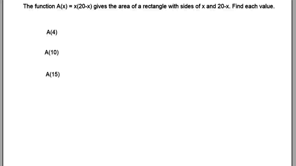 Finding Area of a Rectangle Given the Function.mp4