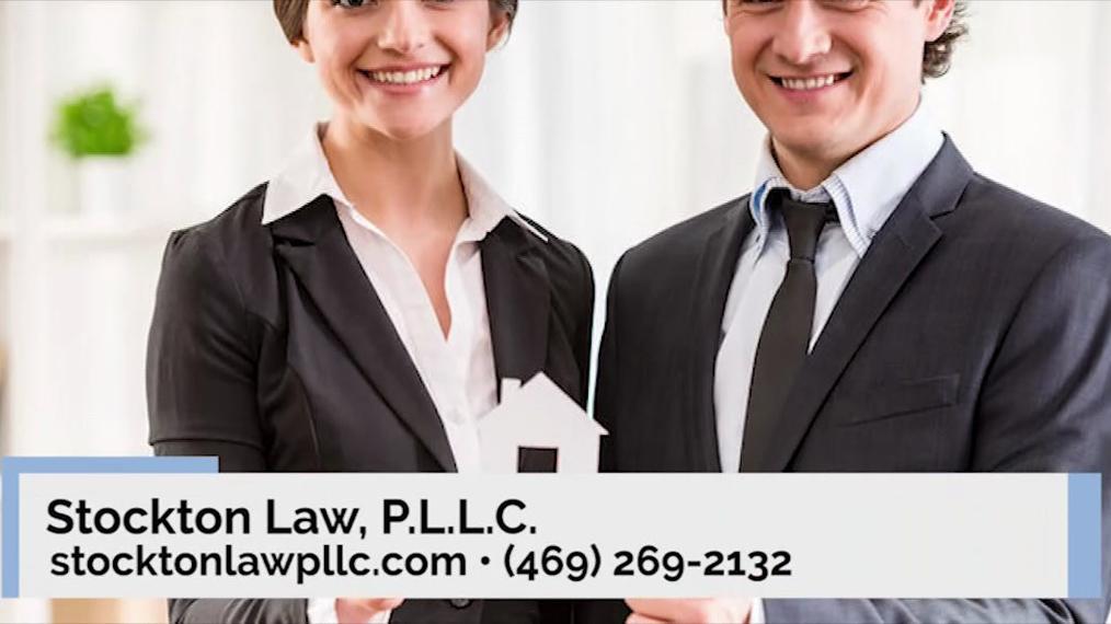 Estate Planning Attorney in Frisco TX, Stockton Law, P.L.L.C.
