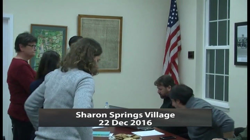 Sharon Springs Village -- 22 Dec 2016