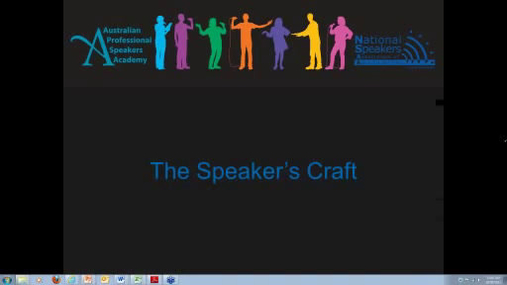 National Speakers Academy - The Speakers Craft.mp4