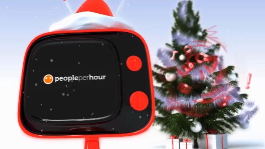 Create a 1 minute Xmas video for your customers