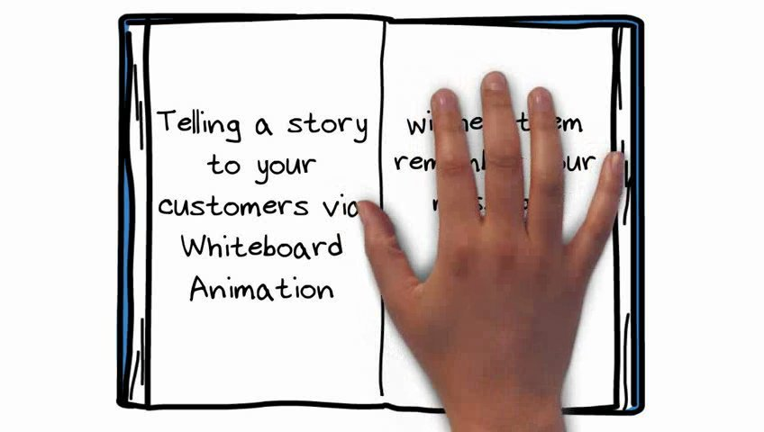 Create an eye catching whiteboard/doodle animation digital hand drawn video scribe