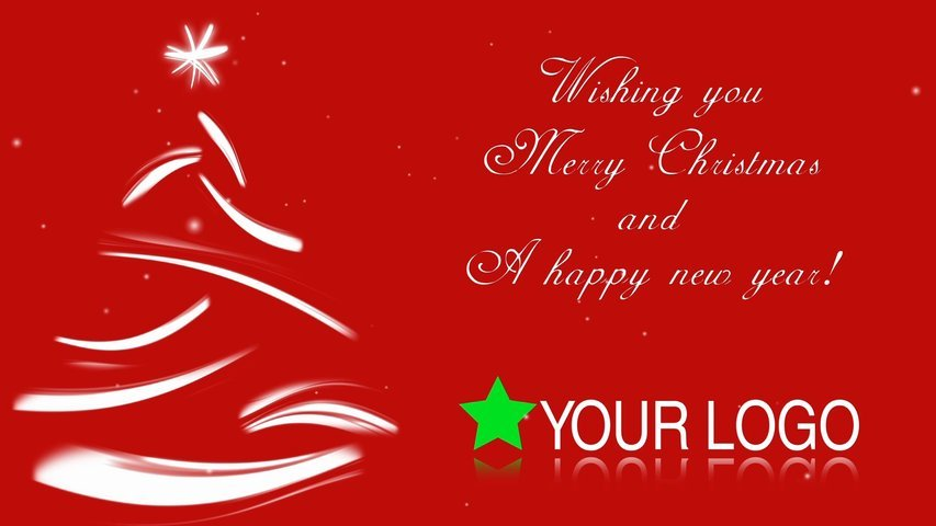 Customize this Christmas Corporate Greeting