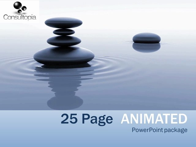 Produce a state-of-the-art Powerpoint presentation up to 25 pages from only