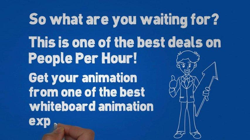 Create an amazing professional whiteboard animation - The Whiteboard Animation Army -