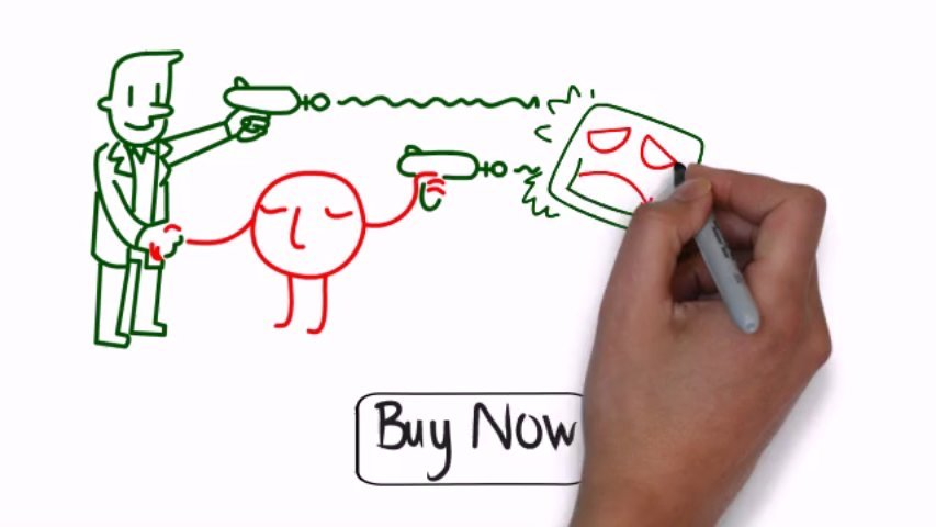 Make you 20 royalty free whiteboard animation illustrations for Sparkol VideoScribe
