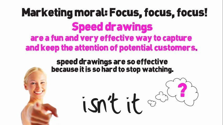 Create an amazing and captivating speed drawing animation