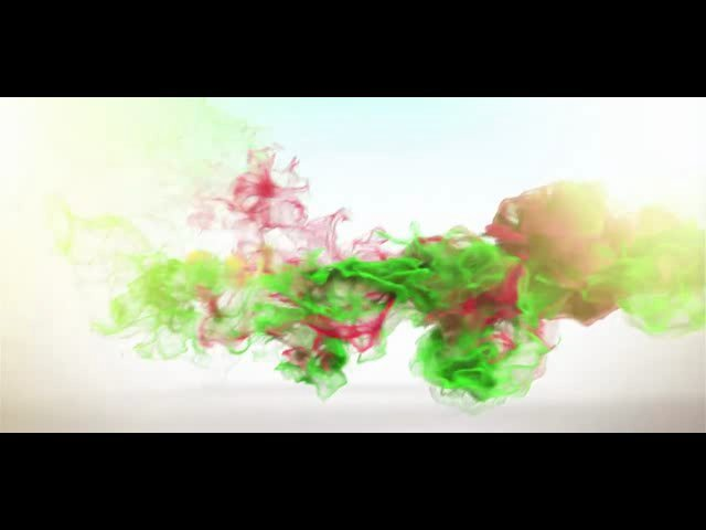 Create Fume FX and 3D intro logo-reveal