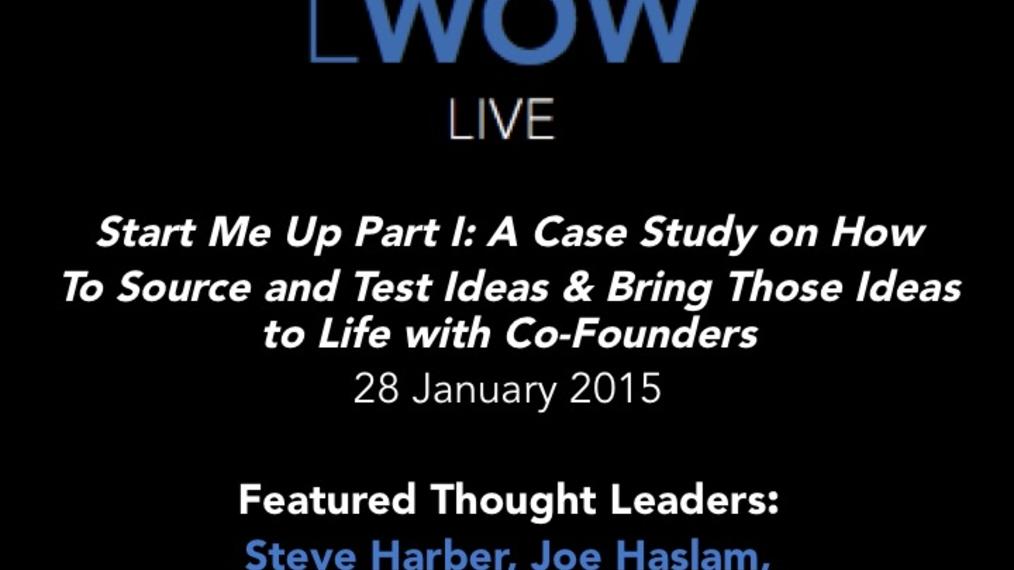 01-28-15 LWOW Live: Start Me Up Part I