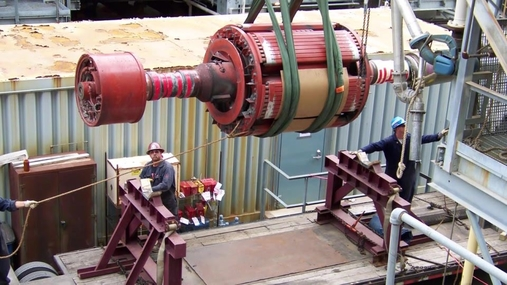 Petroleum Refinery Separation of Rotor from Stator