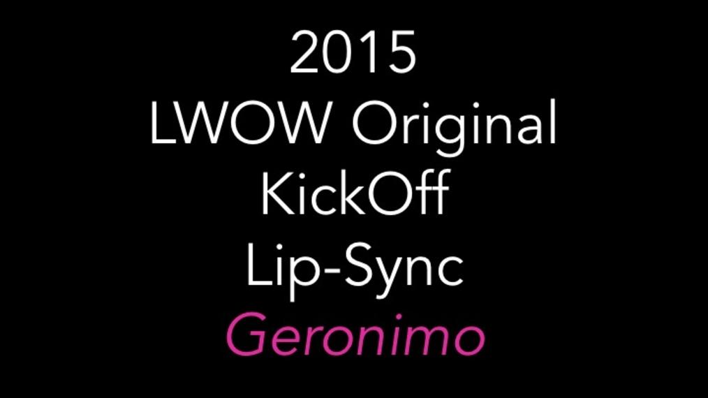 2015 LWOW O KickOff Lip-Sync