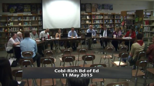 CRCS Board of Ed 11 May 2015