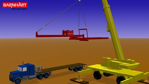 Moveable Counterweight Double Beam