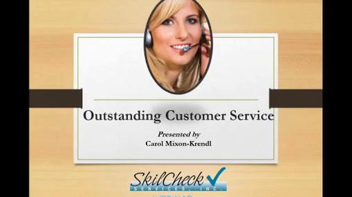 EST - Outstanding Customer Service - SkilCheck.wmv