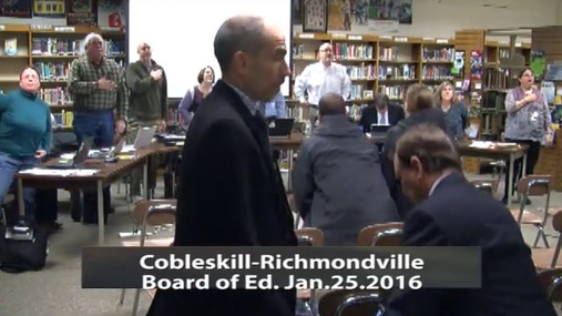 CRCS Bd of Ed -- Jan 25 2016